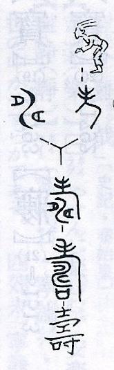 藤堂明保篇「漢字源」の壽字ー絵画から金文、篆書、そして今日目にする楷書への流れ