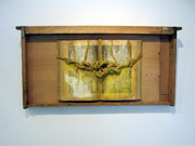 蜜蜂の巣枠に埋め込まれた遺伝子の舟である「ダブリンの朝(あした)」